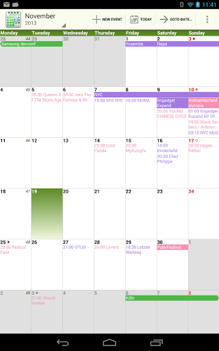 Download-aCalendar-Android-Calendar-0-16-8-android
